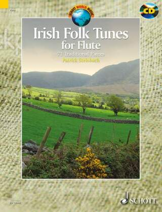 Irish Folk Tunes for Flute, m. Audio-CD