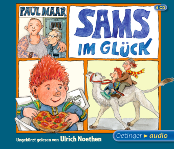 Das Sams 7. Sams im Glück, 4 Audio-CD