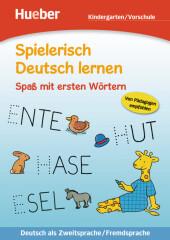 Spaß mit ersten Wörtern, Kindergarten/Vorschule Cover
