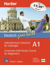 Selbstlernkurs Deutsch für Anfänger / A German Self-Study Course for Beginners, Textbuch + Arbeitsbuch + 2 Audio-CDs Cover