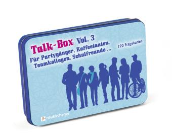 Talk-Box, Für Partygänger, Kaffeetanten, Teamkollegen, Schulfreunde... (Spiel)