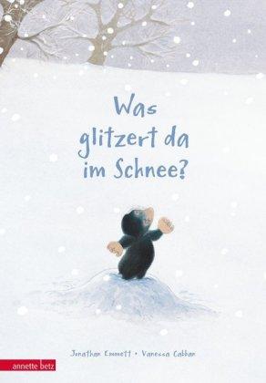 Was glitzert da im Schnee?