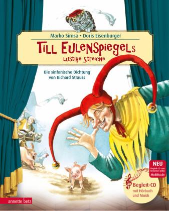 Till Eulenspiegels lustige Streiche, m. Audio-CD