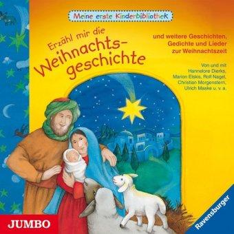 Erzähl mir die Weihnachtsgeschichte, Audio-CD