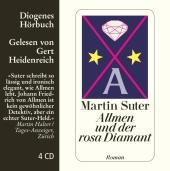 Allmen und der rosa Diamant, 4 Audio-CDs Cover
