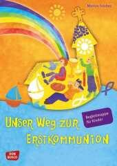 Unser Weg zur Erstkommunion, Begleitmappe für Kinder Cover