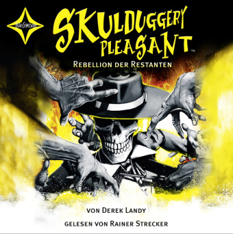 Skulduggery Pleasant - Rebellion der Restanten, 6 Audio-CDs