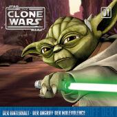 Star Wars, The Clone Wars - Der Hinterhalt - Der Angriff der Malevolence, 1 Audio-CD Cover