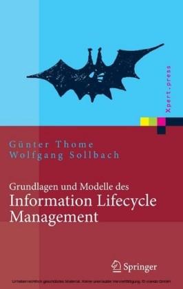 Grundlagen und Modelle des Information Lifecycle Management