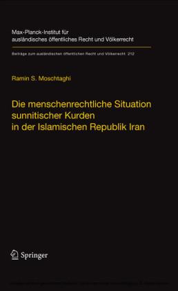 Die menschenrechtliche Situation sunnitischer Kurden in der Islamischen Republik Iran