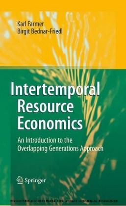 Intertemporal Resource Economics