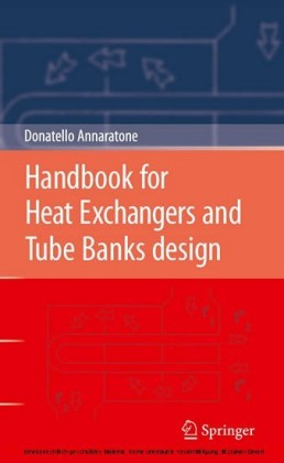 Handbook for Heat Exchangers and Tube Banks design