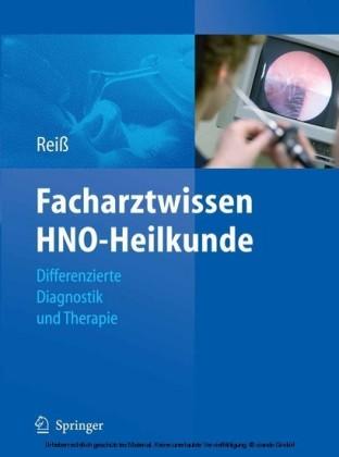 Facharztwissen HNO-Heilkunde