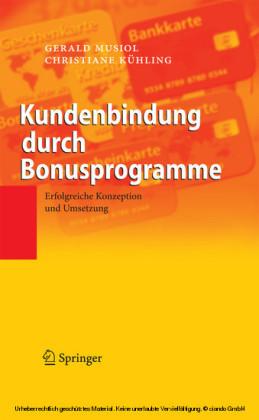 Kundenbindung durch Bonusprogramme