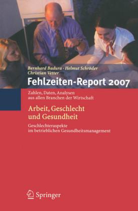 Fehlzeiten-Report 2007