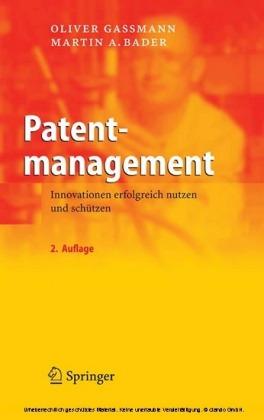 Patentmanagement