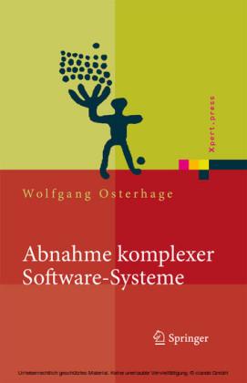 Abnahme komplexer Software-Systeme