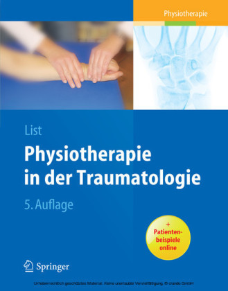 Physiotherapie in der Traumatologie