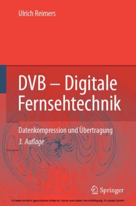 DVB - Digitale Fernsehtechnik
