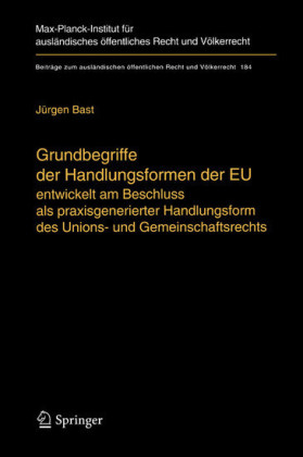 Grundbegriffe der Handlungsformen der EU