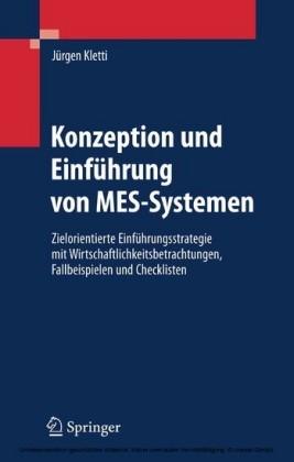 Konzeption und Einführung von MES-Systemen