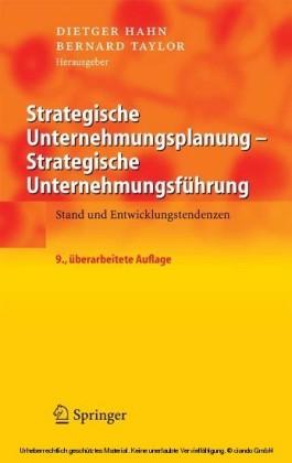 Strategische Unternehmungsplanung - Strategische Unternehmungsführung
