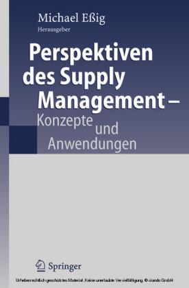 Perspektiven des Supply Management