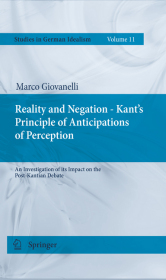 Reality and Negation - Kant's Principle of Anticipations of Perception