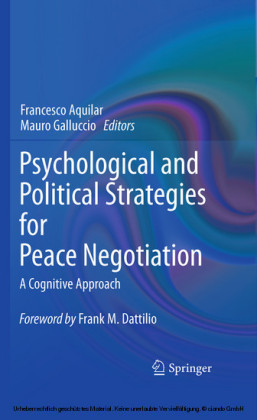 Psychological and Political Strategies for Peace Negotiation