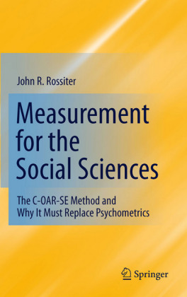 Measurement for the Social Sciences