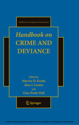 Handbook on Crime and Deviance