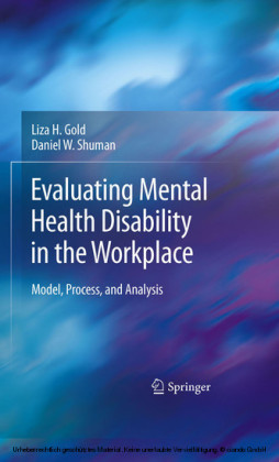 Evaluating Mental Health Disability in the Workplace