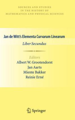 Jan de Witt's Elementa Curvarum Linearum