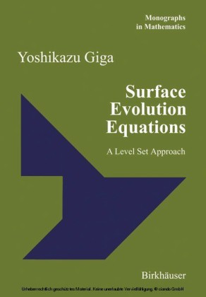 Surface Evolution Equations