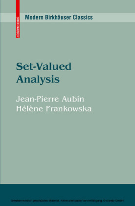 Set-Valued Analysis