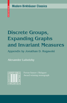 Discrete Groups, Expanding Graphs and Invariant Measures