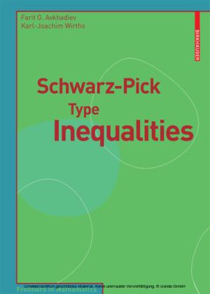 Schwarz-Pick Type Inequalities