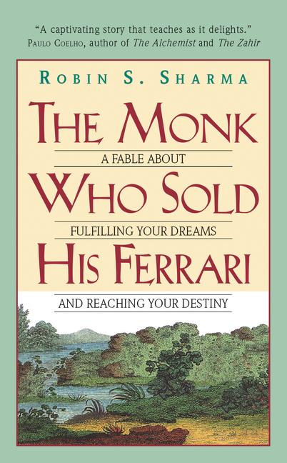The Monk Who Sold His Ferrari Der Mönch Der Seinen Ferrari Verkaufte Englische Ausgabe Produkt