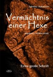 Vermächtnis einer Hexe, Großdruck Cover