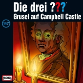 Die drei out - Grusel auf Campbell Castle, 1 Audio-CD Cover
