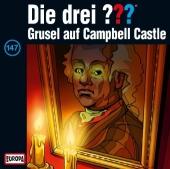 Die drei ??? - Grusel auf Campbell Castle, 1 Audio-CD Cover