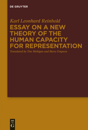 Essay on a New Theory of the Human Capacity for Representation