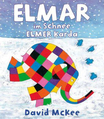 Elmar im Schnee, Deutsch-Türkisch;Elmer Karda