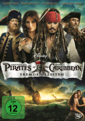 Pirates of the Caribbean, Fremde Gezeiten, 1 DVD Cover