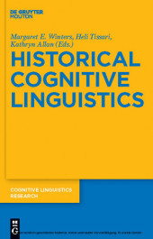 Historical Cognitive Linguistics