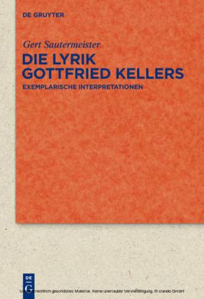 Die Lyrik Gottfried Kellers
