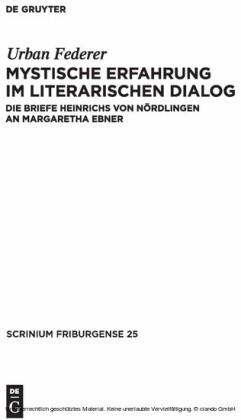Mystische Erfahrung im literarischen Dialog