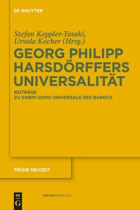 Georg Philipp Harsdörffers Universalität