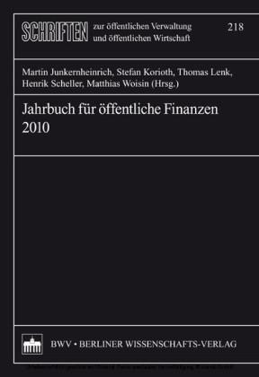 Jahrbuch für öffentliche Finanzen 2010