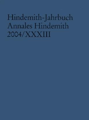Hindemith-Jahrbuch